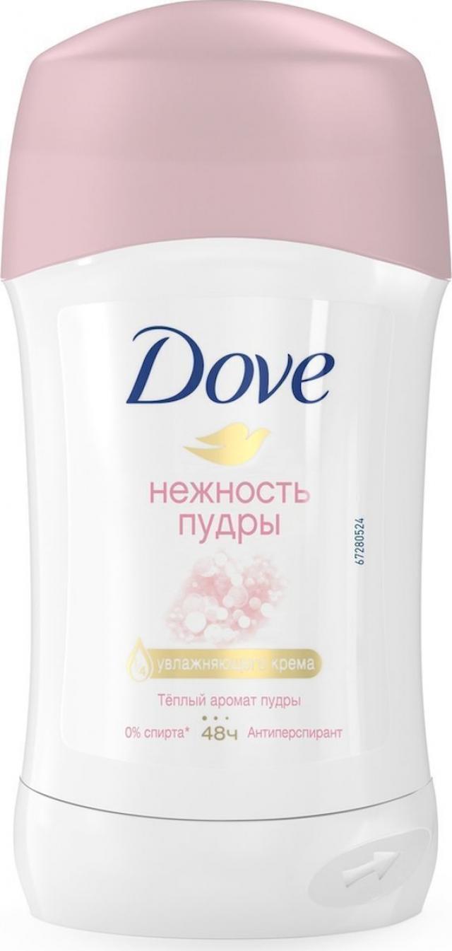 Дав дезодорант-стик Нежность пудры 40мл купить в Москве по цене от 0 рублей
