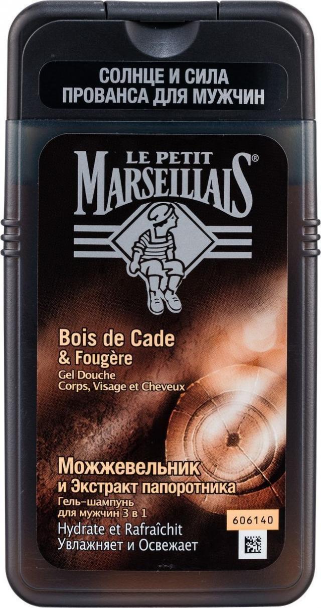 Ле Петит Марсельез гель для душа для мужчин можжевельник/папоротник 250мл купить в Москве по цене от 0 рублей