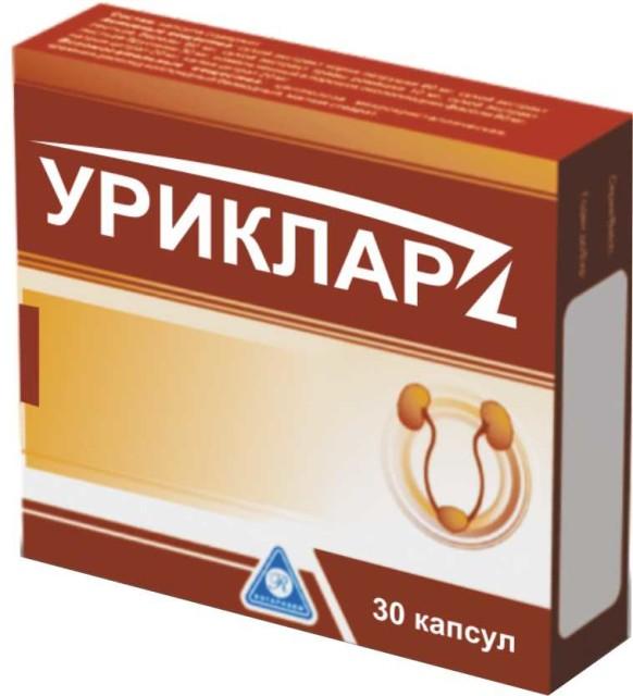 Уриклар капсулы 430мг №30 купить в Москве по цене от 1090 рублей