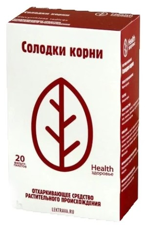 Солодка корни Здоровье ф/п 1,5г №20 купить в Москве по цене от 69 рублей