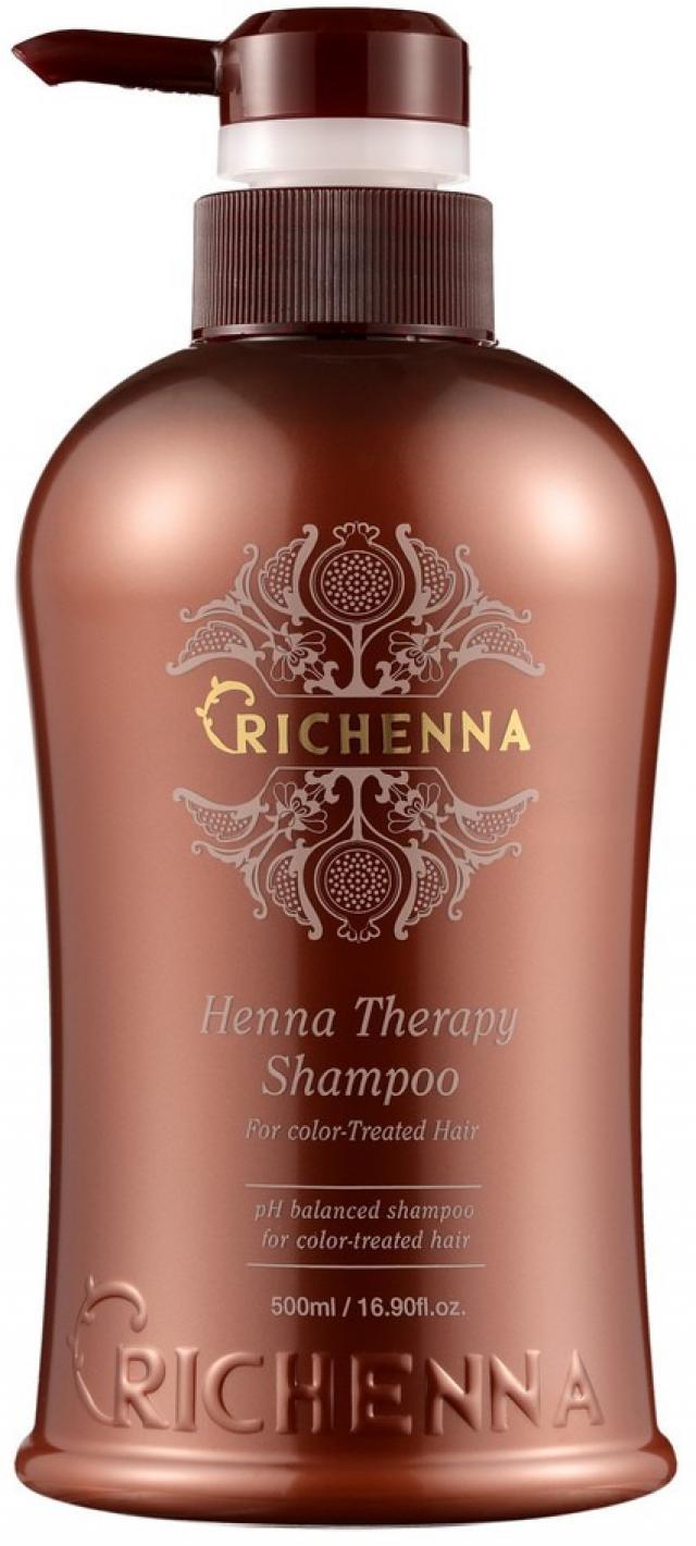 Риченна ХенаТерапи шампунь для волос с экс.трактом хны 500мл купить в Москве по цене от 0 рублей