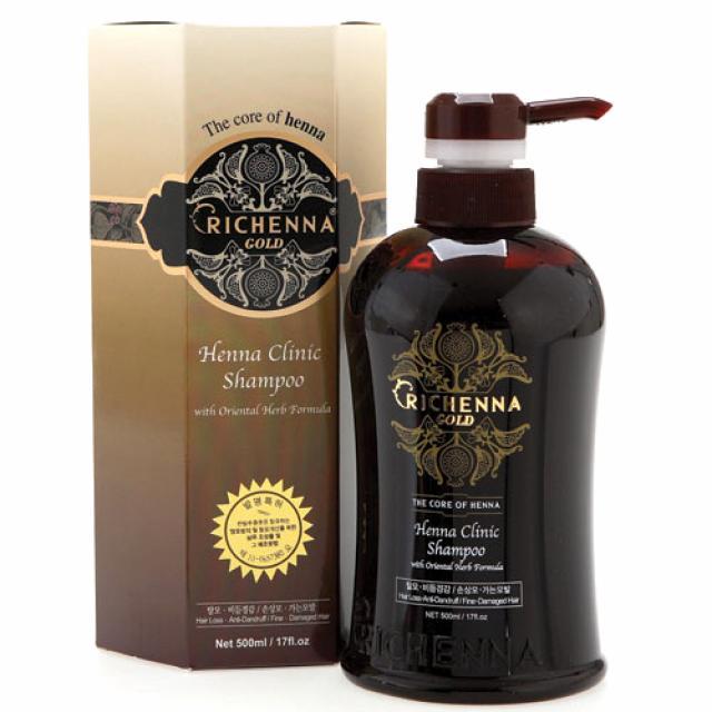 Риченна Соо шампунь для волос с хной 500мл купить в Москве по цене от 0 рублей