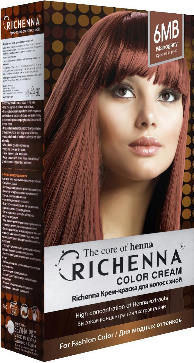 Риченна крем-краска для волос с хной т.6MB купить в Москве по цене от 0 рублей
