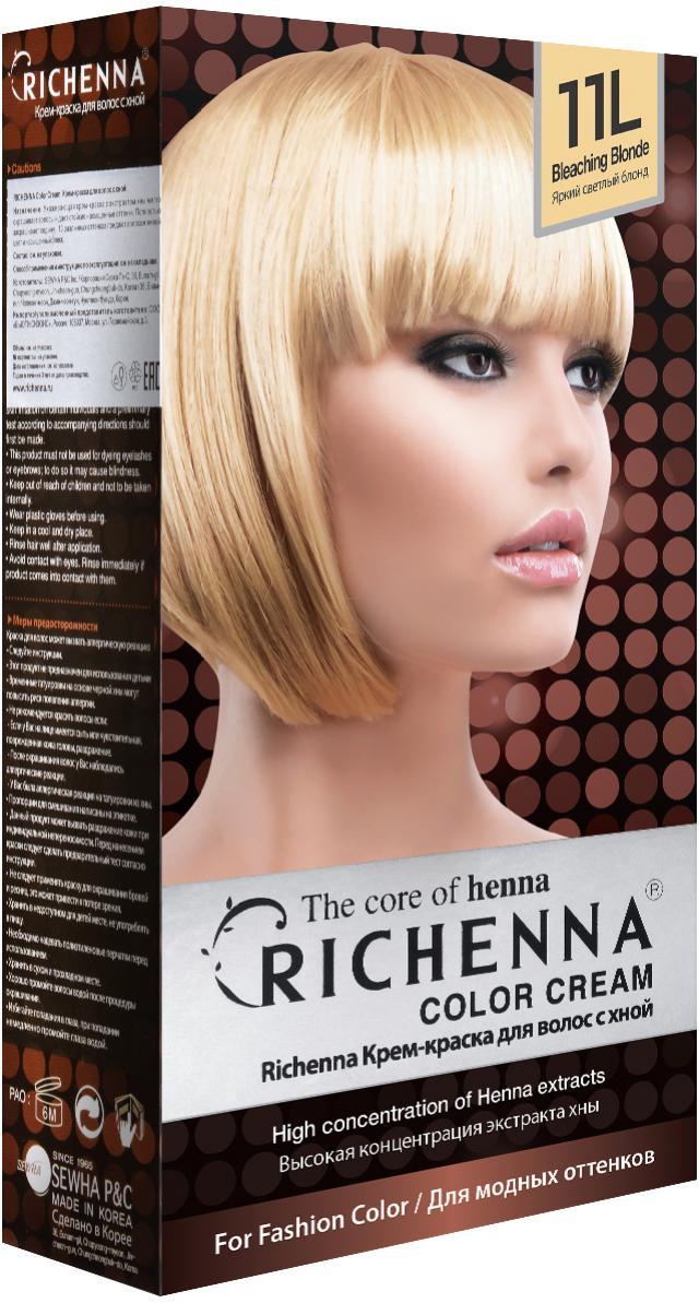 Риченна крем-краска для волос с хной т.11L купить в Москве по цене от 0 рублей