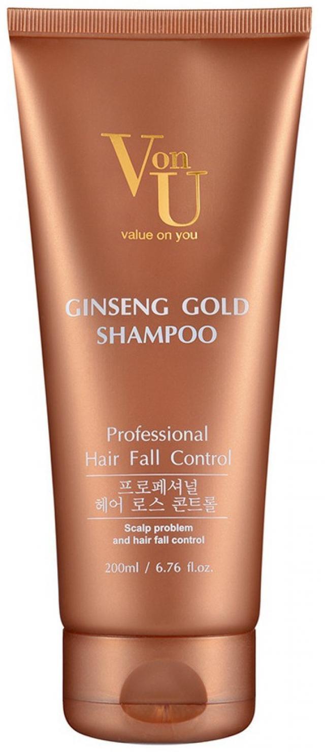 Вон-Ю шампунь для волос золотой женьшень 200мл купить в Москве по цене от 0 рублей