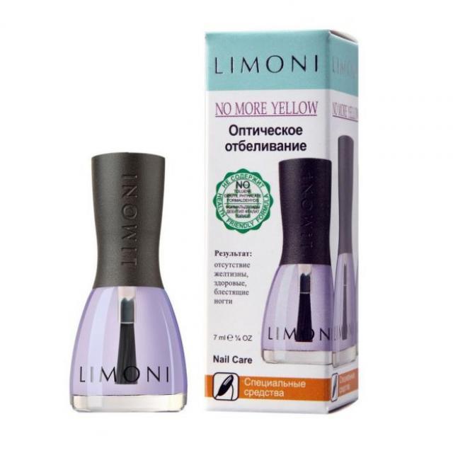 Лимони основа-покрытие для ногтей Оптическ.отбеливание 7мл купить в Москве по цене от 0 рублей