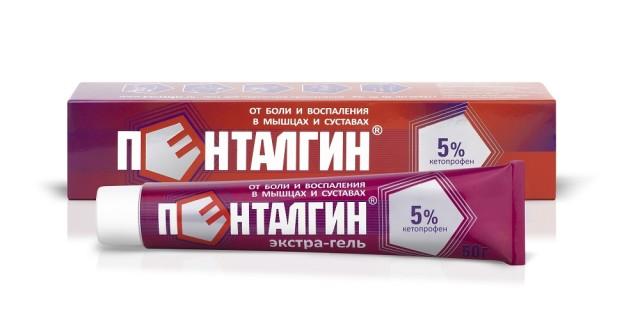 Пенталгин экстра-гель гель для наружного применения 5% 50г купить в Москве по цене от 291 рублей