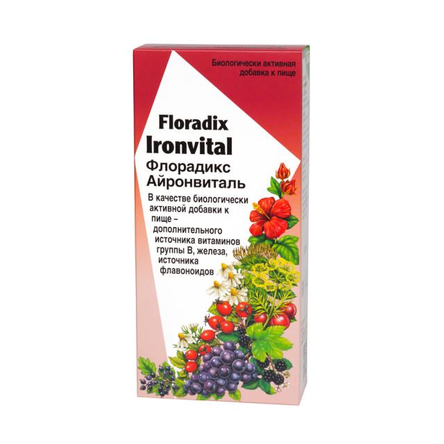 Флорадикс Айронвиталь жидкий внутрь 500мл купить в Москве по цене от 1570 рублей