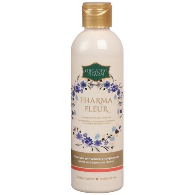 Органик Фарм шампунь Фармафлер для окрашенных волос 250мл купить в Москве по цене от 146 рублей