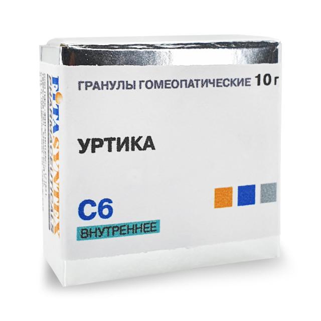 Уртика Уренс С-6 гранулы 10г купить в Москве по цене от 0 рублей