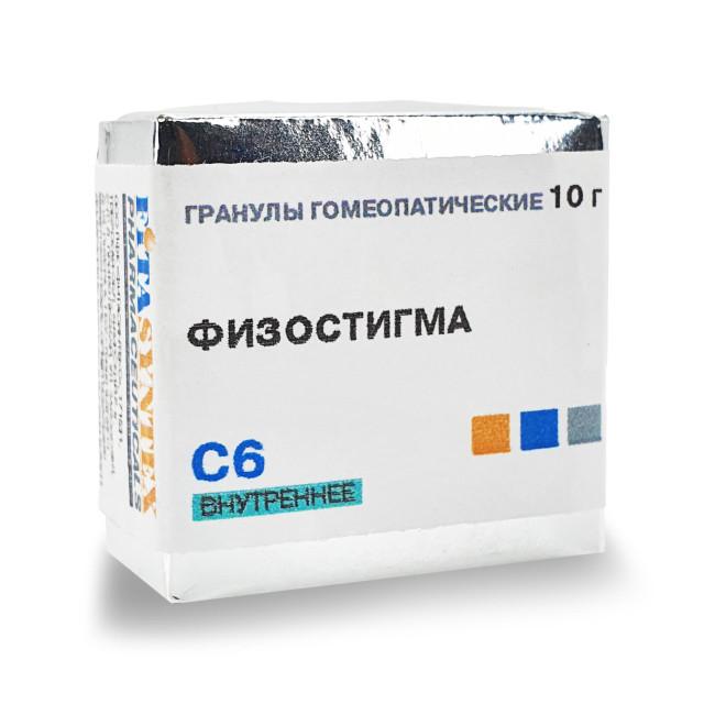 Физостигма Вененозум С-6 гранулы 10г купить в Москве по цене от 0 рублей