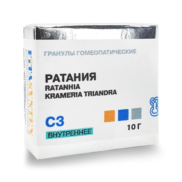 Ратания (Крамерия Триандра) С-3 гранулы 10г купить в Москве по цене от 0 рублей