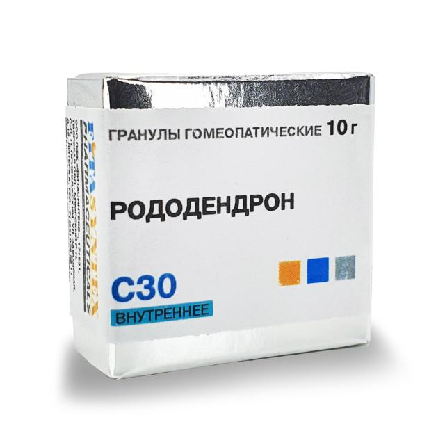 Рододендрон С-30 гранулы 10г купить в Москве по цене от 150 рублей