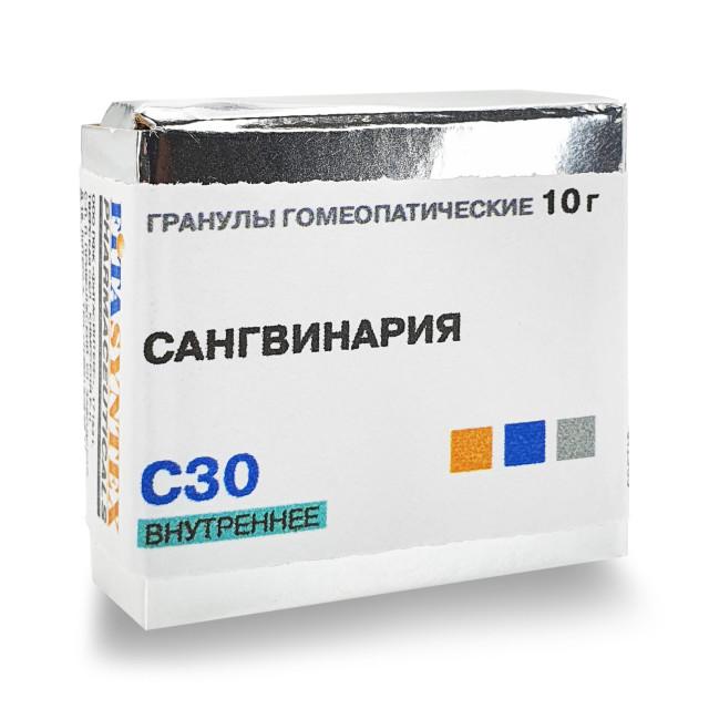 Сангвинария Канадензис (Сангвинария) С-30 гранулы 10г купить в Москве по цене от 172 рублей