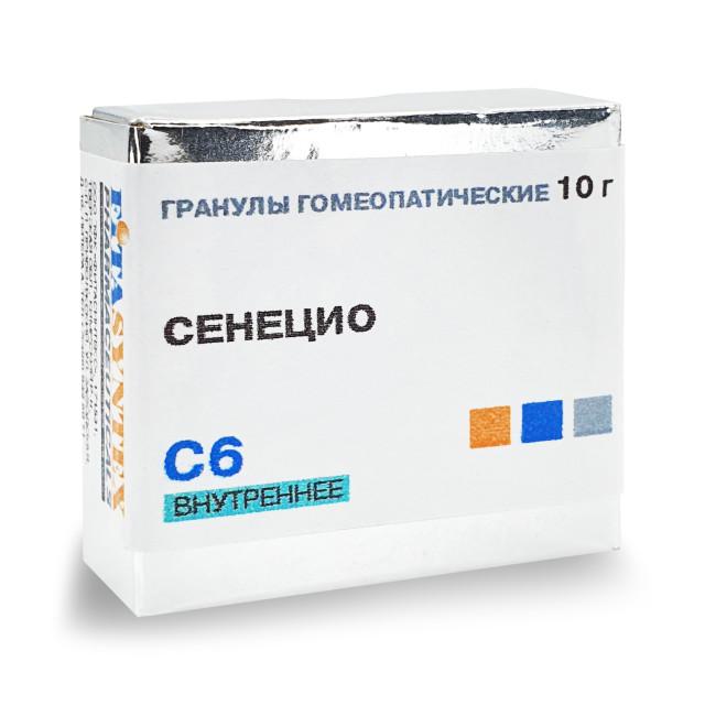 Сенецио Ауреус С-6 гранулы 10г купить в Москве по цене от 0 рублей