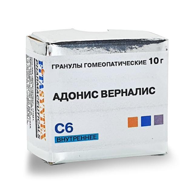 Адонис Верналис С-6 гранулы 10г купить в Москве по цене от 0 рублей