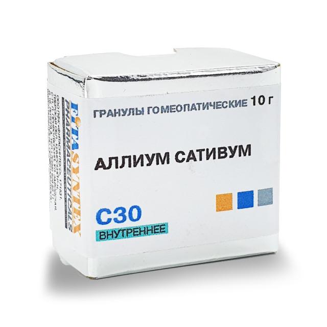 Аллиум Сативум С-30 гранулы 10г купить в Москве по цене от 0 рублей