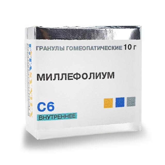 Миллефолиум (Ахиллеа Миллефолиум) С-6 гранулы 10г купить в Москве по цене от 140 рублей