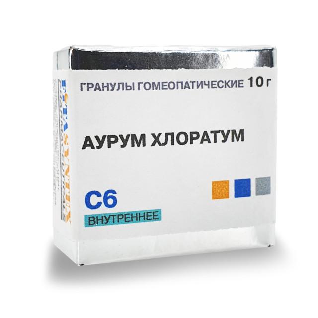 Аурум Хлоратум С-6 гранулы 10г купить в Москве по цене от 162 рублей