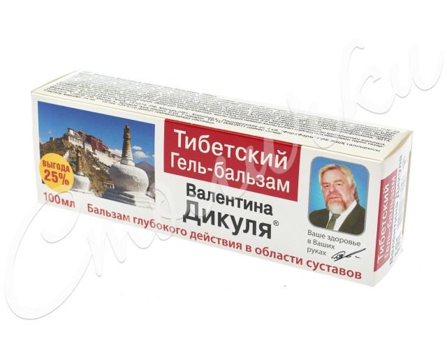 Валентина Дикуля гель-бальзам Тибетский 100мл купить в Москве по цене от 195 рублей