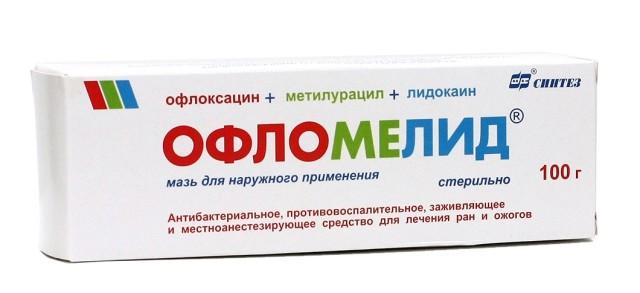Офломелид мазь 100г купить в Москве по цене от 438 рублей