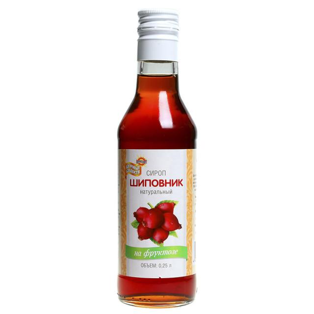Сироп Шиповник на фруктозе 250мл купить в Москве по цене от 85 рублей