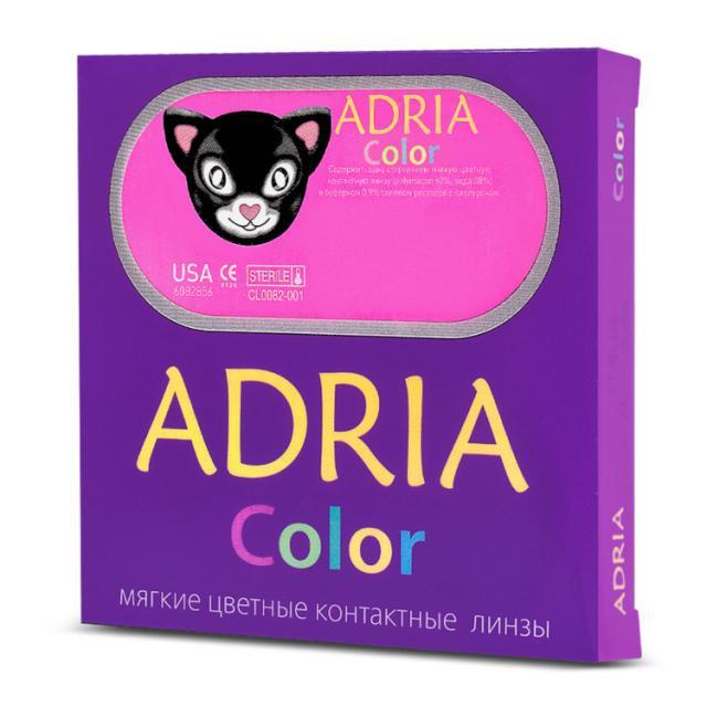 Линзы контактные Адриа фиолетовые купить в Москве по цене от 0 рублей