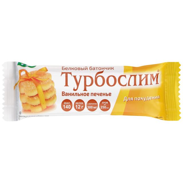 Турбослим батончик Эвалар ванил. печенье 50г купить в Москве по цене от 109 рублей