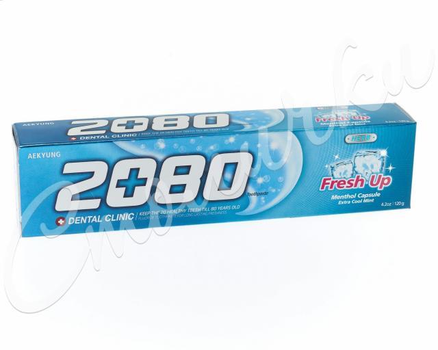 Дентал Клиник 2080 зубная паста освежающая 120г купить в Москве по цене от 129 рублей