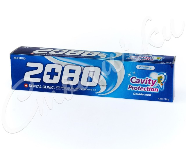 Дентал Клиник 2080 зубная паста мята 120г купить в Москве по цене от 129 рублей