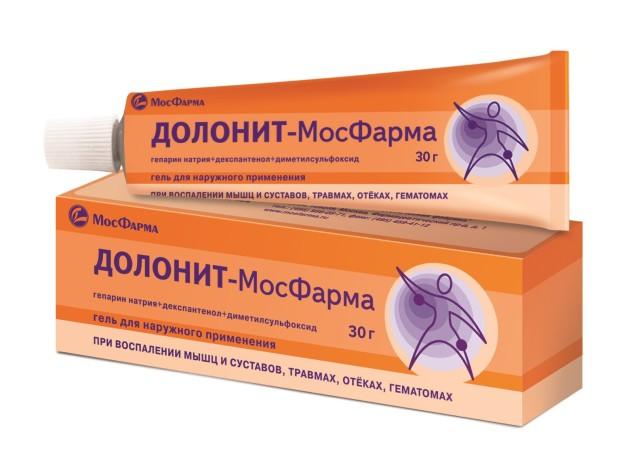 Долонит-МосФарма гель 30г купить в Москве по цене от 203 рублей