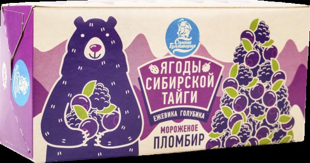 Биомороженое Ягоды Сибирской Тайги пломбир 12% 240г купить в Москве по цене от 0 рублей