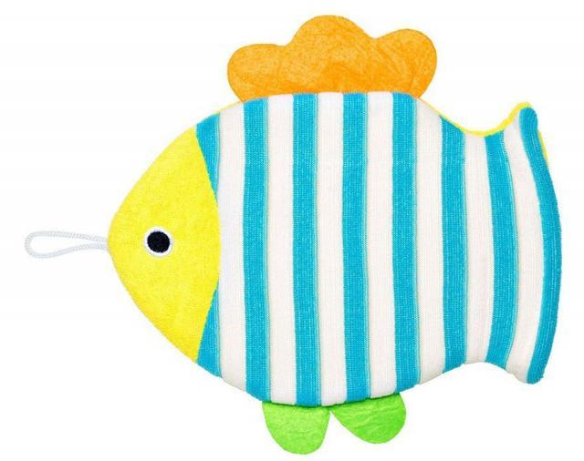 Мочалка-варежка детская Рыбка микс 143045 купить в Москве по цене от 0 рублей
