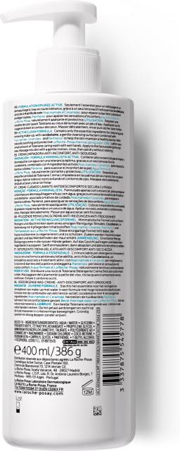 Ля рош позе Толеран гель для умывания для чувствительной кожи 400мл купить в Москве по цене от 1460 рублей