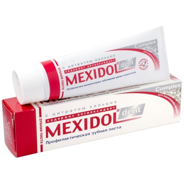 Мексидол Дент зубная паста Комплекс 100г купить в Москве по цене от 180 рублей