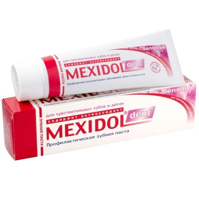 Мексидол Дент зубная паста Сенситив 100г купить в Москве по цене от 191 рублей