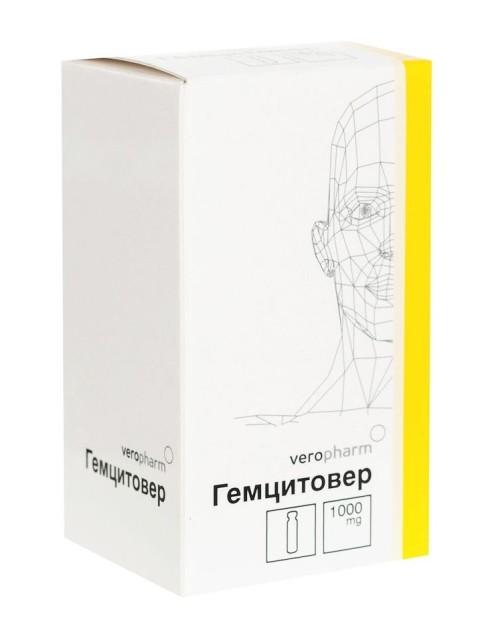 Гемцитовер лиофилизат для инфузий 1г №1 купить в Москве по цене от 0 рублей