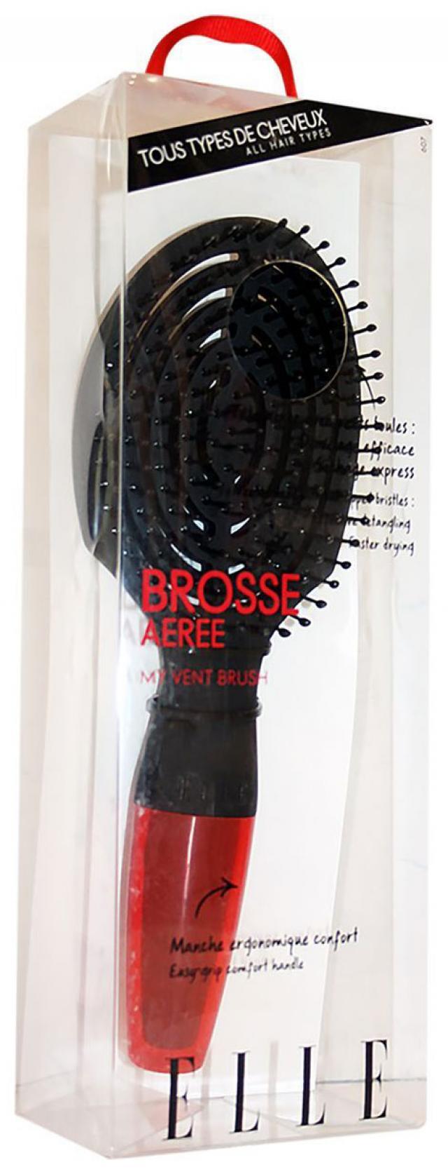 Элль щетка для волос д/создания объема вентил. 3040690576079 купить в Москве по цене от 1710 рублей