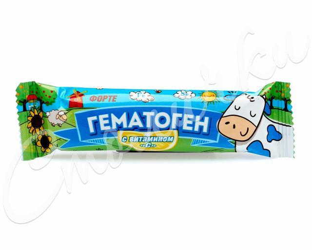 Гематоген Форте с витамином С 40г купить в Москве по цене от 29 рублей