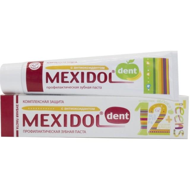 Мексидол Дент зубная паста Тинс 65г купить в Москве по цене от 146 рублей