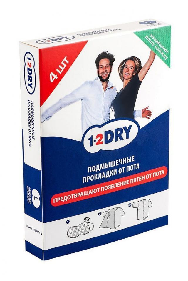1-2Драй вкладыши от пота для одежды бел.р.L №4 купить в Москве по цене от 103 рублей