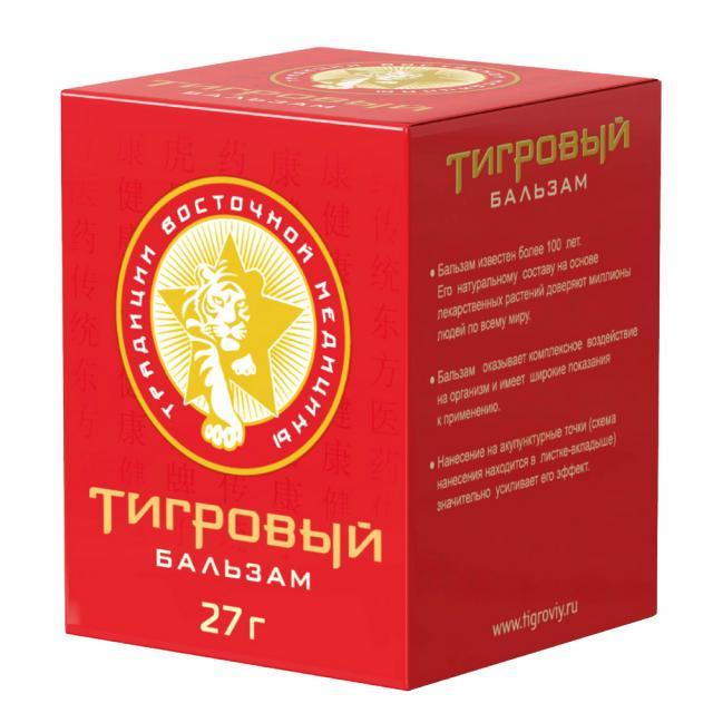 Тигровый бальзам д/наружн. применения 27г купить в Москве по цене от 229 рублей