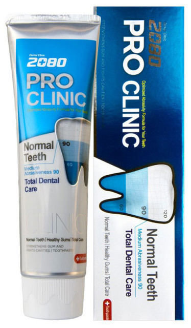 Дентал Клиник 2080 зубная паста Проф.защита 125г купить в Москве по цене от 140 рублей