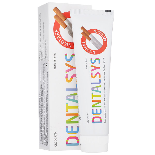 Денталсис зубная паста Никотар д/курильщиков 130г купить в Москве по цене от 190 рублей