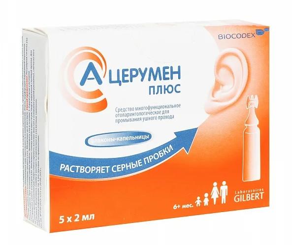 А-Церумен Плюс 2мл №5 купить в Москве по цене от 508 рублей