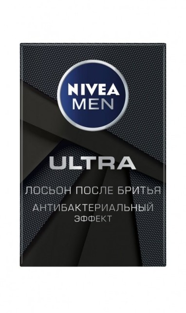 Нивея Мен лосьон после бритья Ультра 100мл 88581 купить в Москве по цене от 466 рублей
