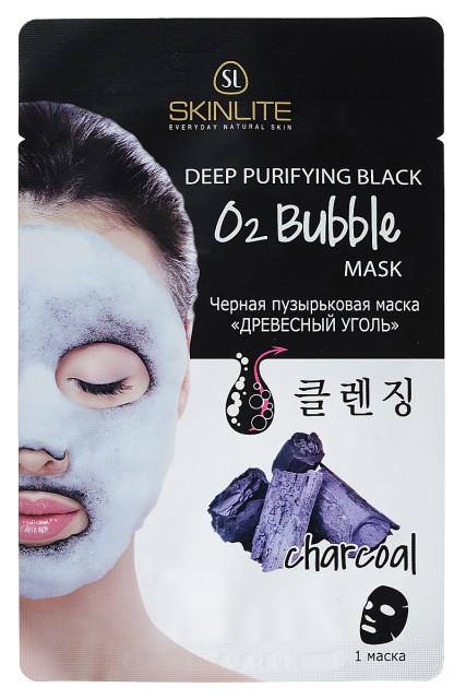 Скинлайт маска для лица черн.пузырьк.древ.уголь 20г купить в Москве по цене от 154 рублей