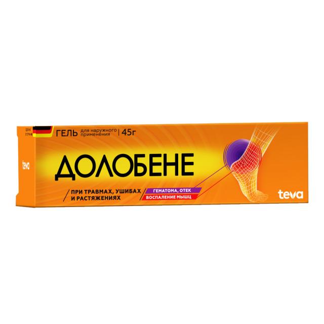 Долобене гель 45г купить в Москве по цене от 375 рублей