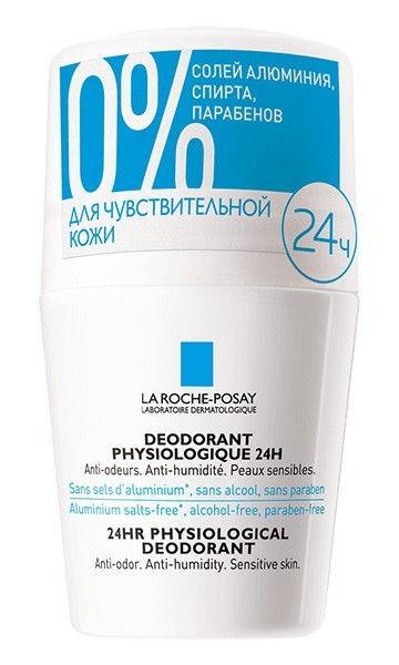 Ля рош позе дезодорант-ролик физиологический 50мл купить в Москве по цене от 826 рублей