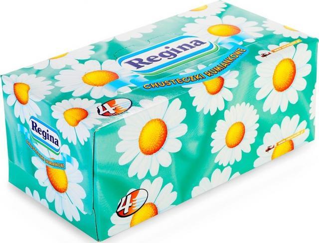 Регина салфетки бумажные ромашка №110 купить в Москве по цене от 0 рублей